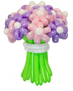 Букеты из воздушных шаров, «Комильфо» — 23 цветка из шаров