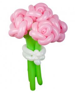 Букеты из воздушных шаров, «Хубба-бубба» — 5 цветов из шаров