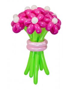 «Розовая мечта» — 11 цветов из шаров