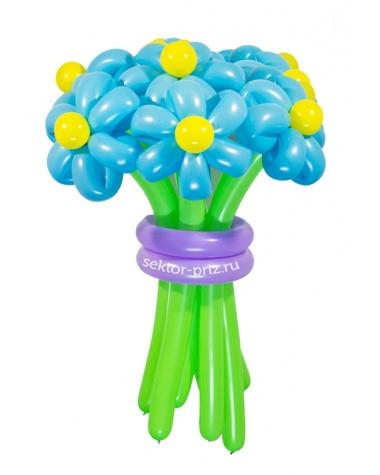 «Ясный день» — 7 цветов из шаров