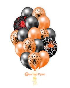 «Пауки» — шары с гелием. 27 шт.