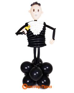 Фигура из шаров «Школьник»