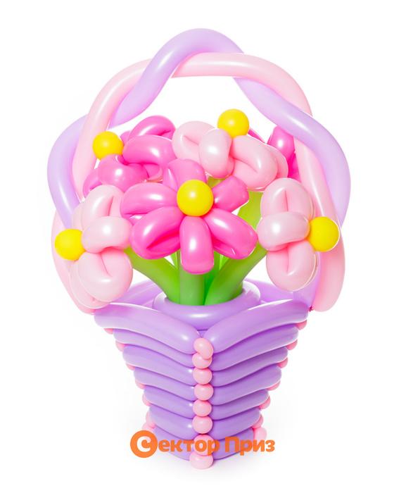 «Барби» — 7 цветов из шаров