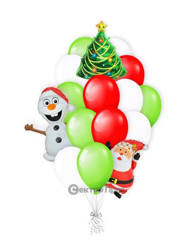 «Волшебный праздник» — шары с гелием. 24 шт.