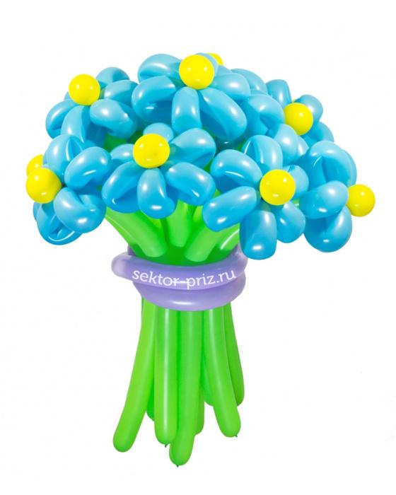 «Ясный день» — 15 цветов из шаров