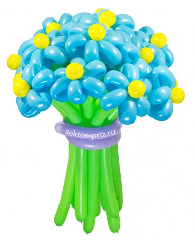 «Ясный день» — 23 цветка из шаров