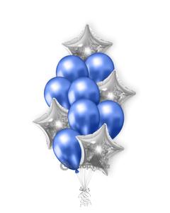 «Звездное небо» — шары с гелием. 17 шт.