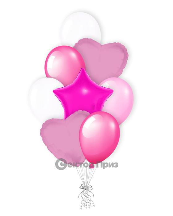 «Наслаждение» — шары с гелием. 12 шт.