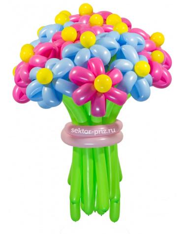 «Ромашковый рай» — 23 цветка из шаров