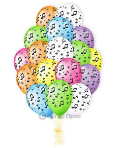 «Музыкальный» - шары с гелием