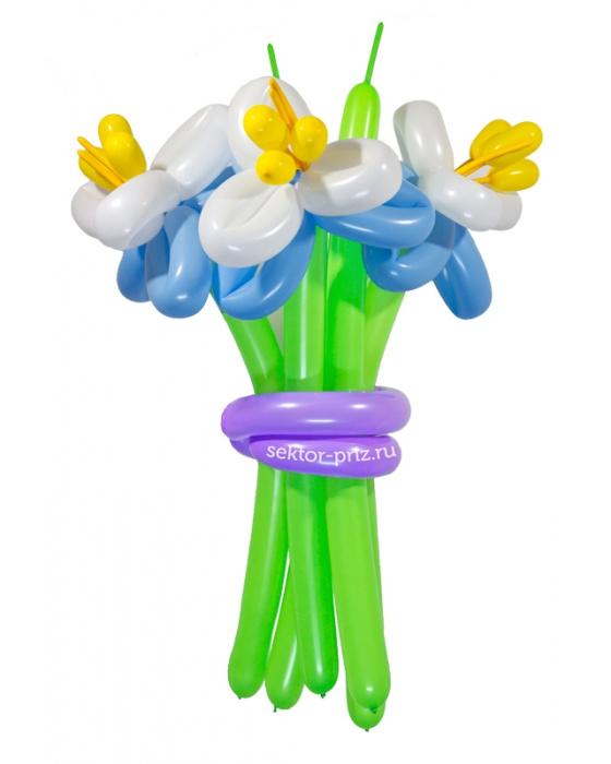 «Элит» — 3 цветка из шаров