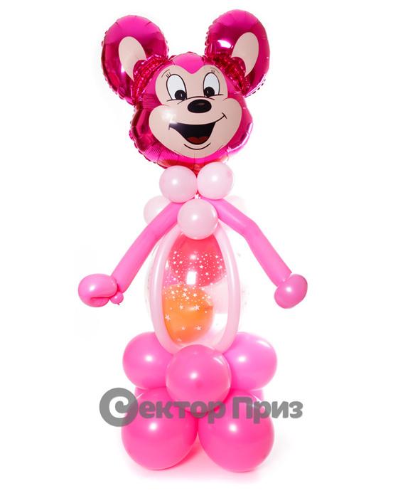 Фигура из шаров «Могучая мышь»