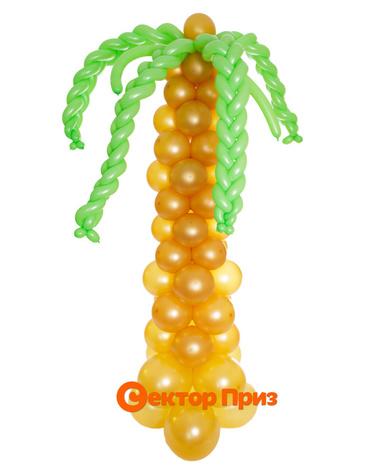 Фигура из шаров «Пальма»