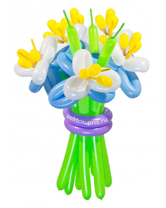 «Элит» — 9 цветов из шаров
