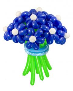 Букеты из воздушных шаров, «Ночное небо» — 13 цветов из шаров