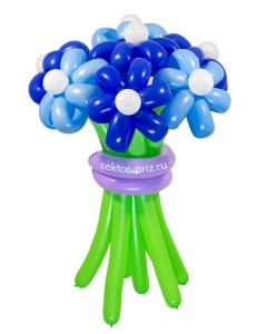Букеты из воздушных шаров, «Храброе сердце» — 7 цветов из шаров