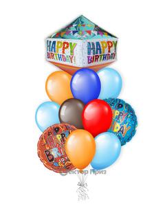 «Твой праздник» — шары с гелием. 15 шт.