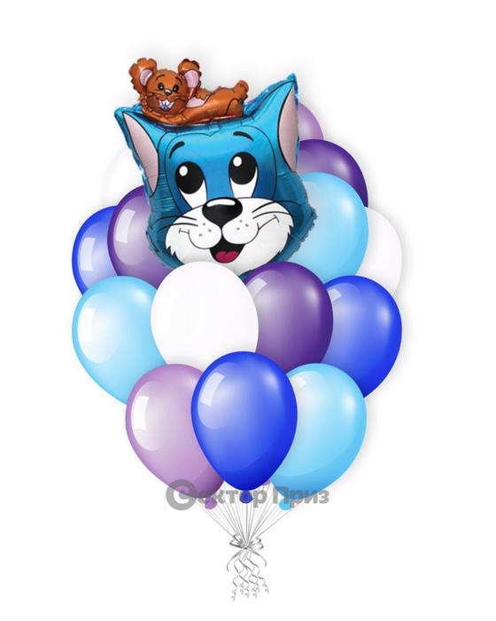 «Том и Джерри» — шары с гелием. 20 шт.