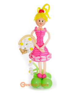 Фигура из шаров «Девушка»