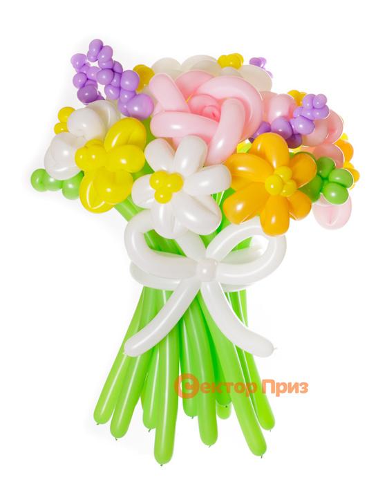 «Краски лета» — 17 цветов из шаров