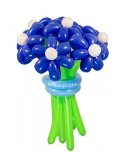 Букеты из воздушных шаров, «Ночное небо» — 7 цветов из шаров