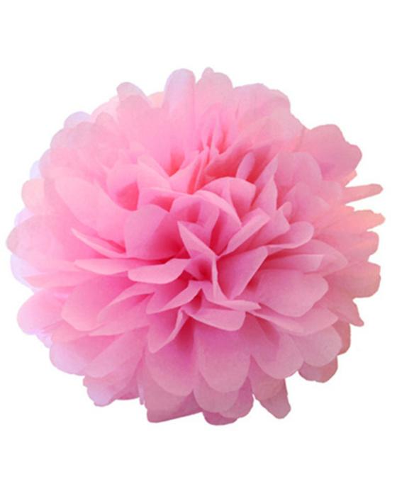 Помпон розовый №25