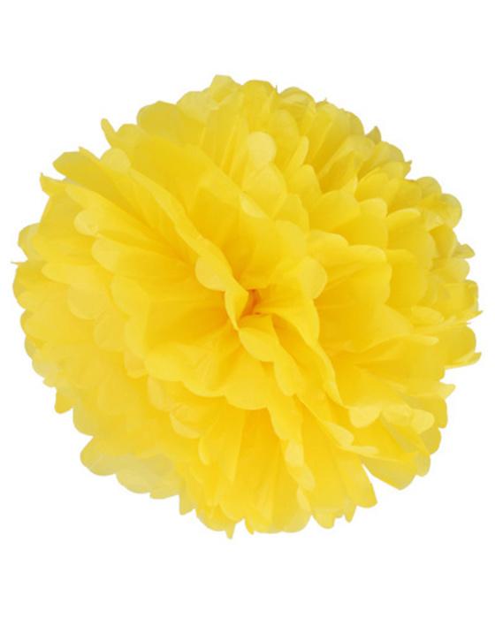 Помпон желтый №26