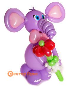 Фигура из шаров «Слоник»