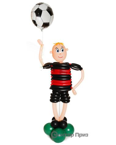 Фигура из шаров «Футболист 2»