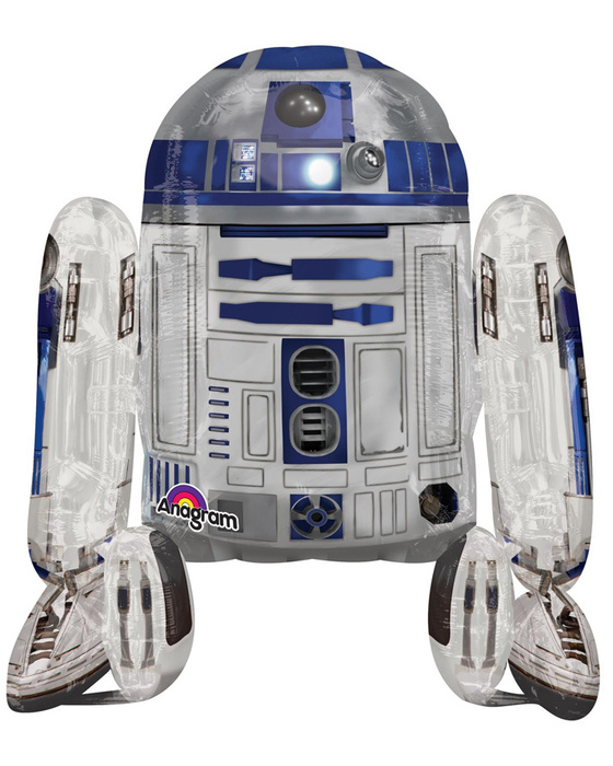 Ходячий шар (75 см) Звездные войны R2D2