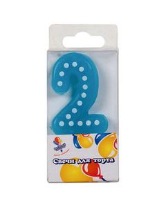 Свеча «Цифра 2»