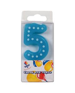 Свеча «Цифра 4»
