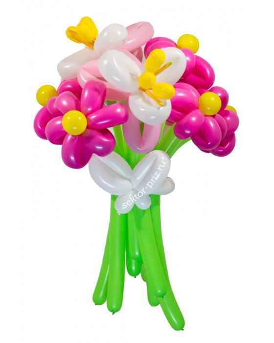«Джульетта» — 9 цветов из шаров