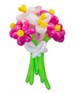 Букеты из воздушных шаров, «Джульетта» — 9 цветов из шаров
