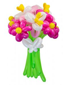 Букеты из воздушных шаров, «Джульетта» — 13 цетов из шаров