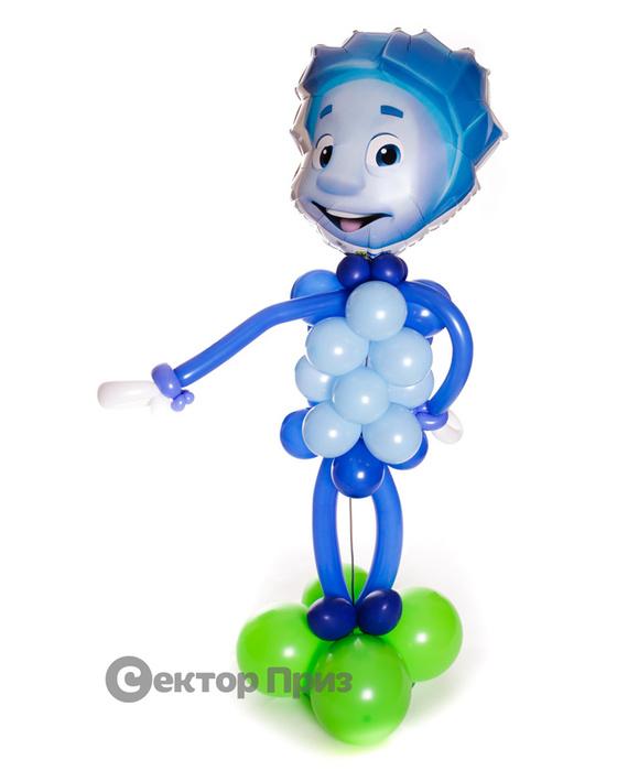 Фигура из шаров «Нолик»