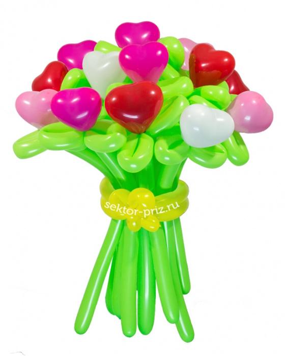 «Коктейль» — 15 цветов из шаров