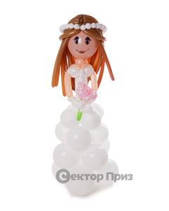 Фигура из шаров «Невеста»