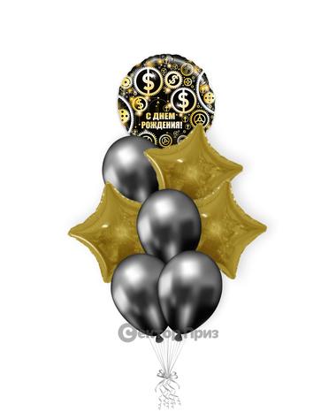 «Вечеринка» — шары с гелием. 12 шт.
