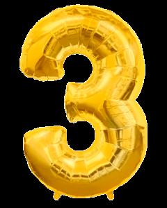 Цифра три золото