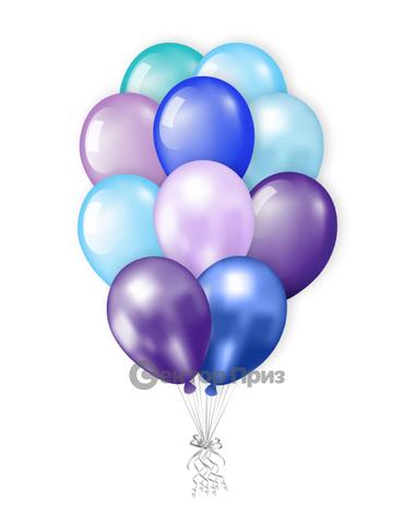 «Холодный» — шары с гелием. 18 шт.
