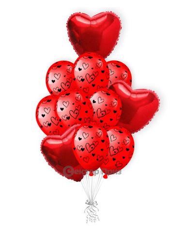 «Амур» — шары с гелием. 15 шт.