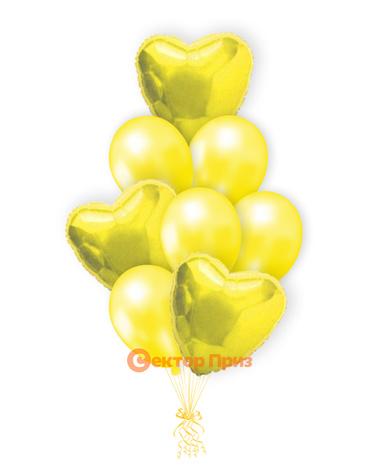 «Изюминка» — шары с гелием. 12 шт.