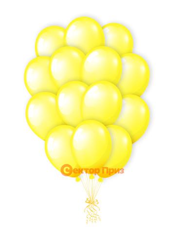 «Лимончик» — шары с гелием. 21 шт.