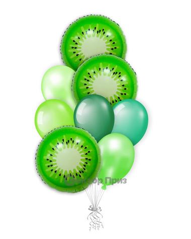 «Киви» — шары с гелием. 12 шт.