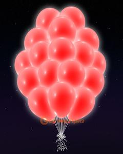 Бирюзовые светящиеся шары