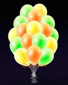 """Светящиеся шары """"Оранжевое настроение"""""""