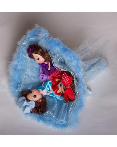 Букет из игрушек «Подружки»