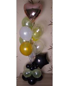 «На стиле» — шары с гелием. 9 шт.