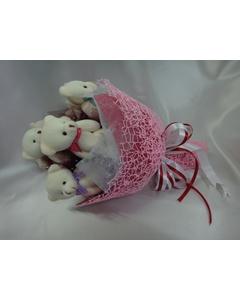 Букет из игрушек «Букет любви»